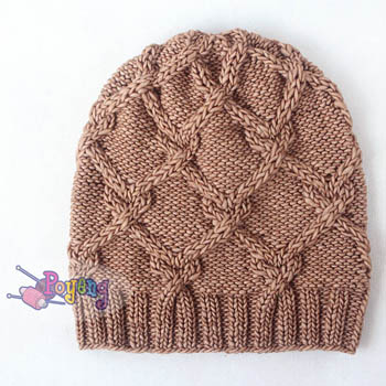 15.01.H-Hat : Heart Cable Hat (adult)