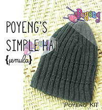 KIT Pemula: Simple Hat Knitting Kit