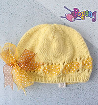 17.08.B: Simple Classic Baby Hat