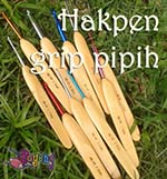 Hakpen (Crochet Hook) Grip Pipih