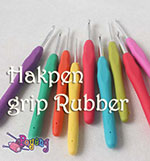 Hakpen (Crochet Hook) Grip Rubber