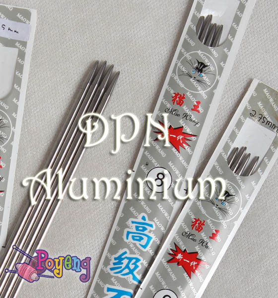 DPN (Double Pointed Needle) Aluminium