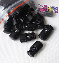 End Plug / Stopper - hitam