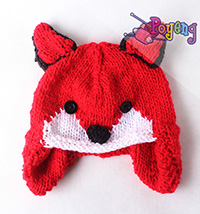 14.05.C-Hat: Fox Hat Children/Teen size