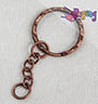 Keychain head - copper