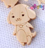 SALE-Kancing shape: DOG<br>16x24mm