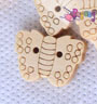 Kancing shape : BUTTERFLY<br>17x13mm