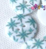 Kancing resin 23mm :<br>Green star (satuan)