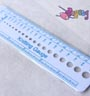 Knitting Needle Gauge (pengukur diameter jarum knitting)