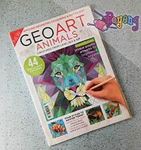 Coloring for Adult: GeoArt Animals
