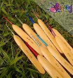 Crochet Hook Grip Pipih 5.0mm