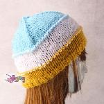 14.15.H: tri color bulky hat<br><font color=&quot;red&quot;>Best Value!</font>
