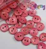 Kancing 2lb-15mm: plain pink