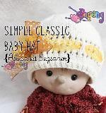 KIT Pemula: Classic Baby Hat Knitting Kit