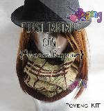 KIT Pemula: First Tartan Cowl Knitting Kit