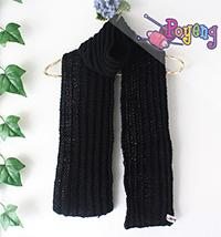 17.02.S: Simple Mis Rib Scarf