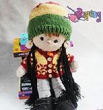15.08.B: Hairish Rasta Baby Hat