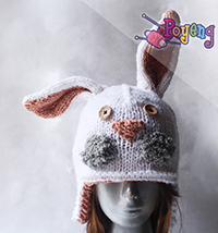 14.01.C-Hat: Rabbit Hat Adult Size
