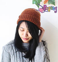 16.02.H-Hat: Simple Brown