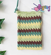 Poyeng's Statement Bag: Fairisle Step