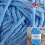 Sweet Milk Cotton Poyeng SM B4 (Cornflower Blue)