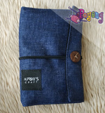 Apoi's Interchangeble Needles Case In Denim