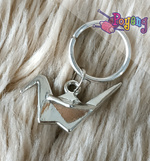 St marker ring silver tone: Origami Silver (Last Stock)