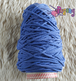 UNDERWEIGHT Tali Macrame (Makrame) Poyeng Ukuran 3mm Warna Dark Denim (MYP 21/3mm)