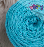 SCB03 Sweet Cotton Blaster Biru Muda (semi-solid)