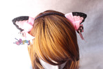 14.06.C-Cat ears Headbands<br><font color=&quot;red&quot;>Best Value!</fon