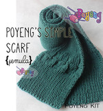 KIT Pemula: Simple Scarf SP Knitting Kit