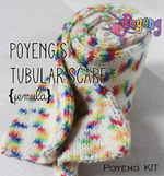 KIT Pemula: Tubular Scarf SA Gradasi Knitting Kit
