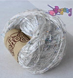 Sequin Yarn (Silver)