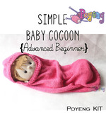 KIT Pemula: Simple Baby Cocoon Knitting Kit