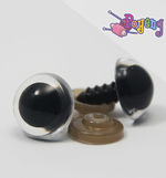 Doll's Eye - clear edge Big (14mm)