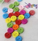 Kancing 2lb-1cm :<br>Simple Warna (satuan)