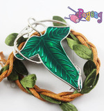 Memorabilia Lord of the Rings: Shawl pin/Bros Elven Leaf