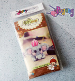 Needle Felt KIT - elephant phone charm