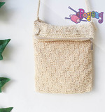 Poyeng's Statement Bag: Cream